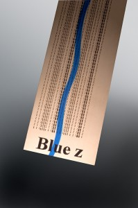 Morphic Message Foil - Blue z