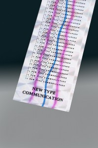 Morphic Message Foil - New Type Communication